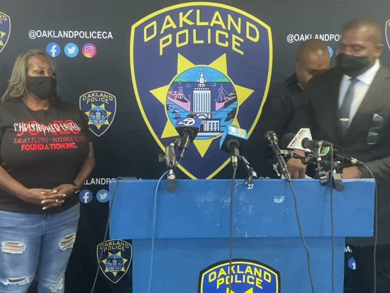 Oakland Police Chief LeRonne L. Armstrong News Conference 10/4/2021