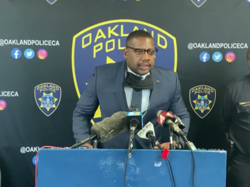 Oakland Police Chief LeRonne L. Armstrong News Conference On October 7th 2021