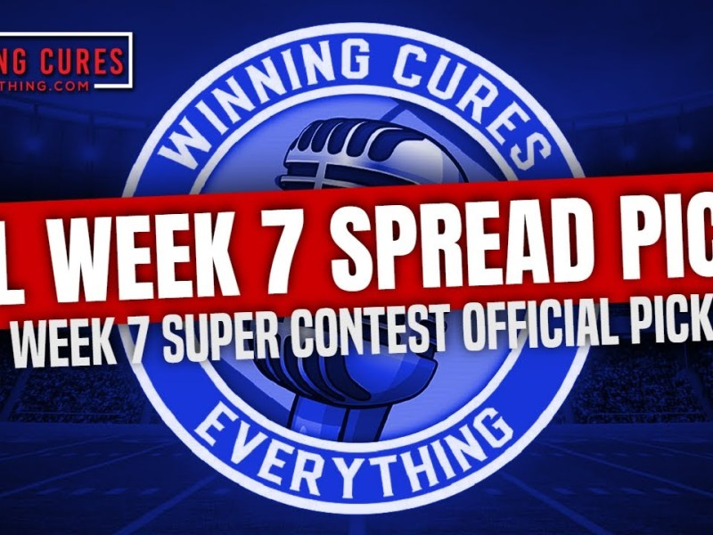 NFL Week 7 Picks Against the Spread, Best Bets, Super Contest predictions 2021