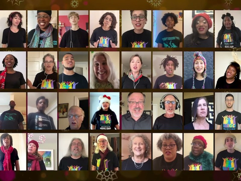 Oakland Interfaith Youth Choir solos – reference video