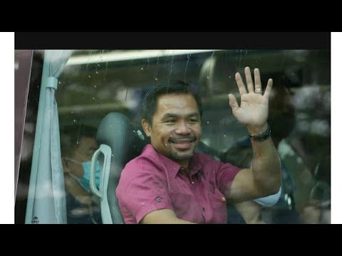 Philippines It's Official Manny Pacquaio Will Run For The 2022 President Election By Eric Pangilinan