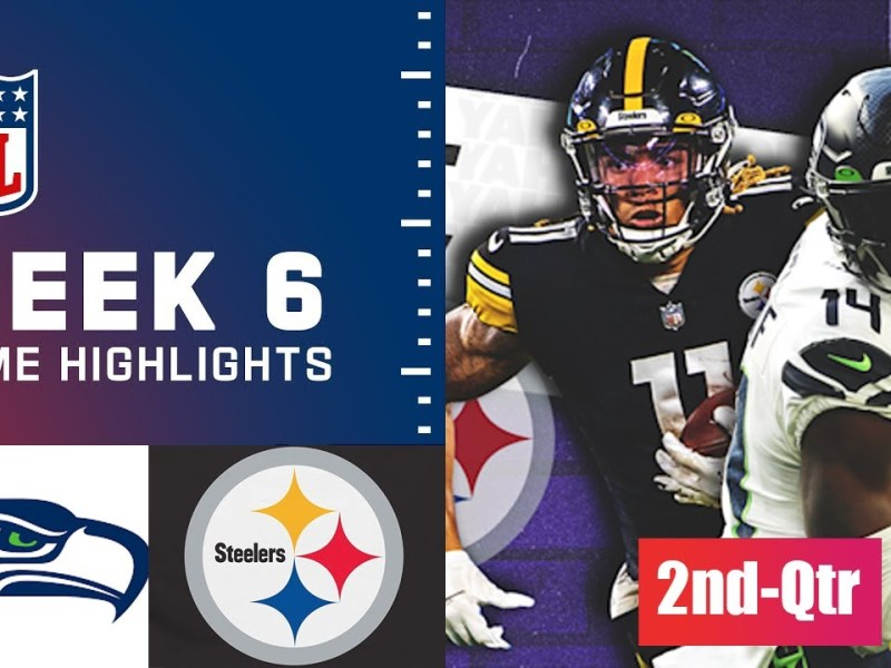 Pittsburgh Steelers vs Seattle Seahawks HIGHLIGHTs 2nd-Qtr | Week 6 NFL Sunday, October 17,2021