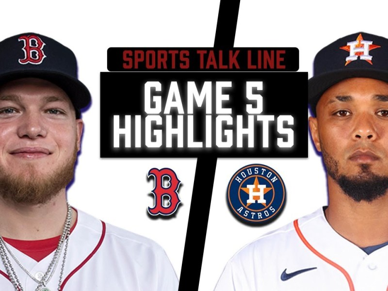 Red Sox vs Astros Game Game 6 Highlights   MLB 2021