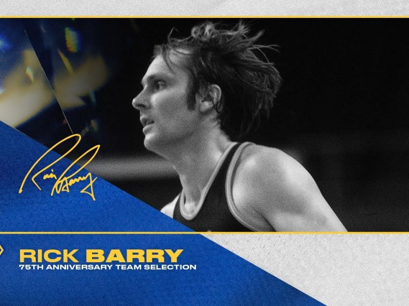 Rick Barry Named to NBA's 75 Greatest Players of All Time List 🏆