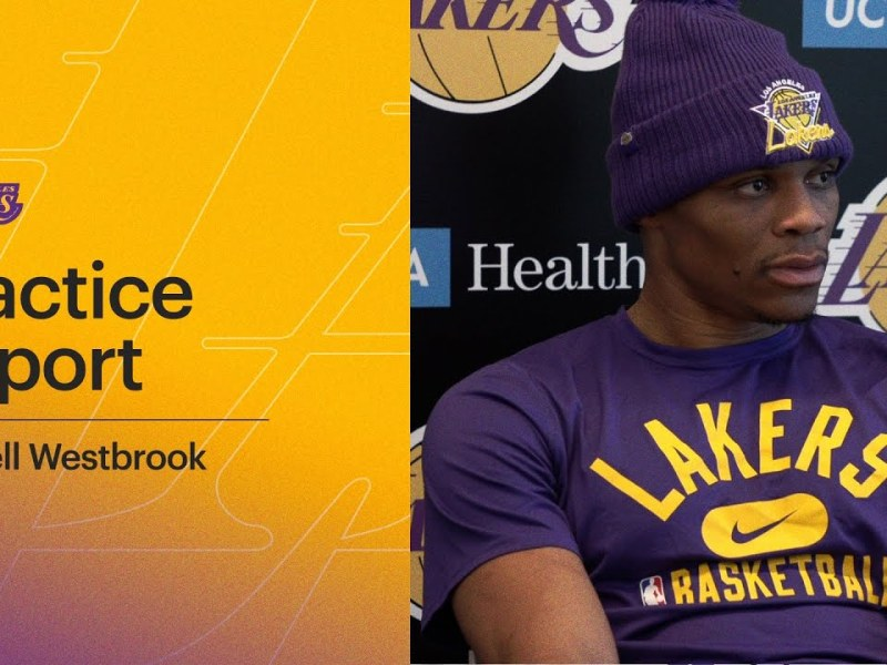 Russell Westbrook talks about the process of new Lakers teammates figuring each other out