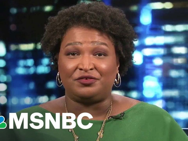 Stacey Abrams: 'Terry McAuliffe Believes In Democracy'