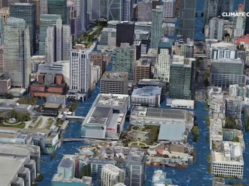 Study predicts sea level rise could swamp Bay Area cities