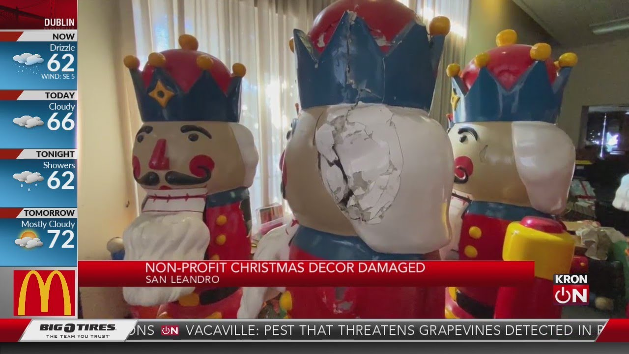 The Grinch arrives early in the East Bay, vandalizes nutcrackers – KRON - Blog