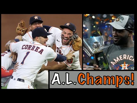 The Houston Astros Advance to the WORLD SERIES!!!