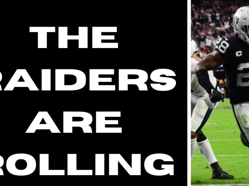 The Las Vegas Raiders ARE ROLLING   The Sports Brief Podcast