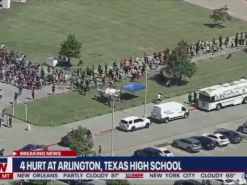 Timberview High School shooting suspect now in custody   LiveNOW from FOX
