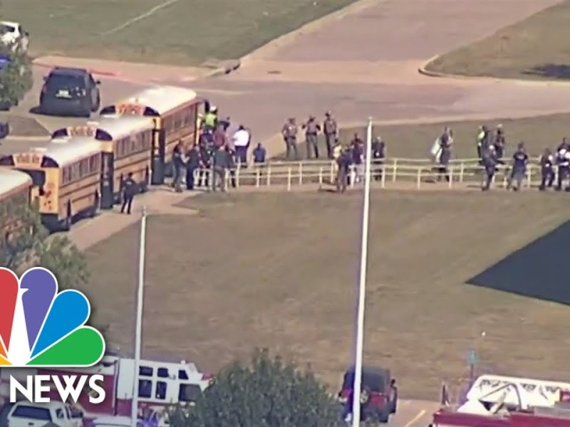 Timothy Simpkins Identified As Suspect In Texas High School Shooting