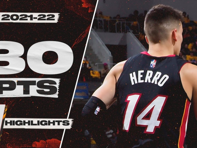Tyler Herro Continues Going Off 🔥 30 Points, 10 Reb vs Pacers