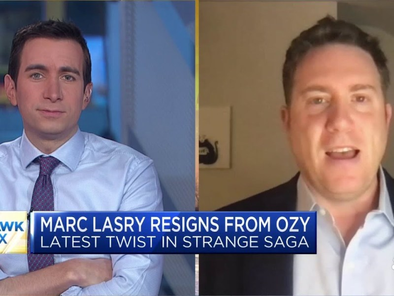 What to know about Marc Lasry's resignation from Ozy Media