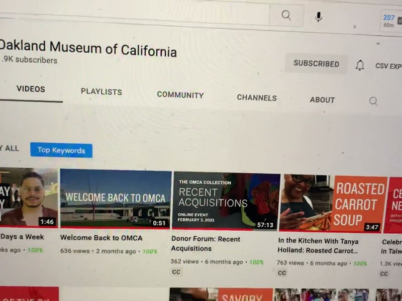 Why Does The Oakland Museum Of California Not Regularly Show Black Men In Its YouTube Videos?