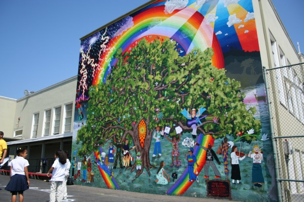 Civicorps Elementary Mural Oakland North