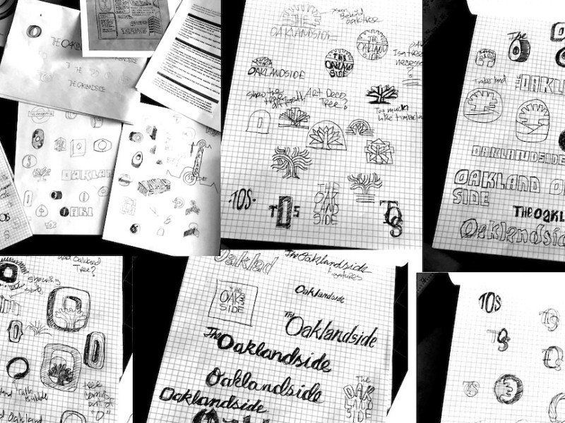 Designer Mike Nicholls shares early concepts of his design for The Oaklandside.
