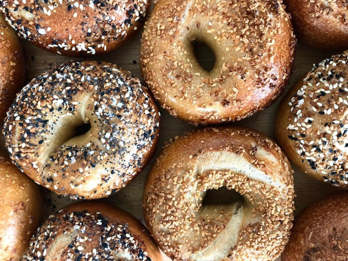 Many varieties of bagels from Hella Bagels. Photo: Hella Bagels
