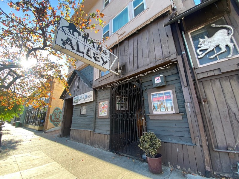 The Alley on Grand Avenue opened in 1933, has been closed since March due to the pandemic. Its owner says the historic piano bar is on the brink of closure. Photo: Sarah Han