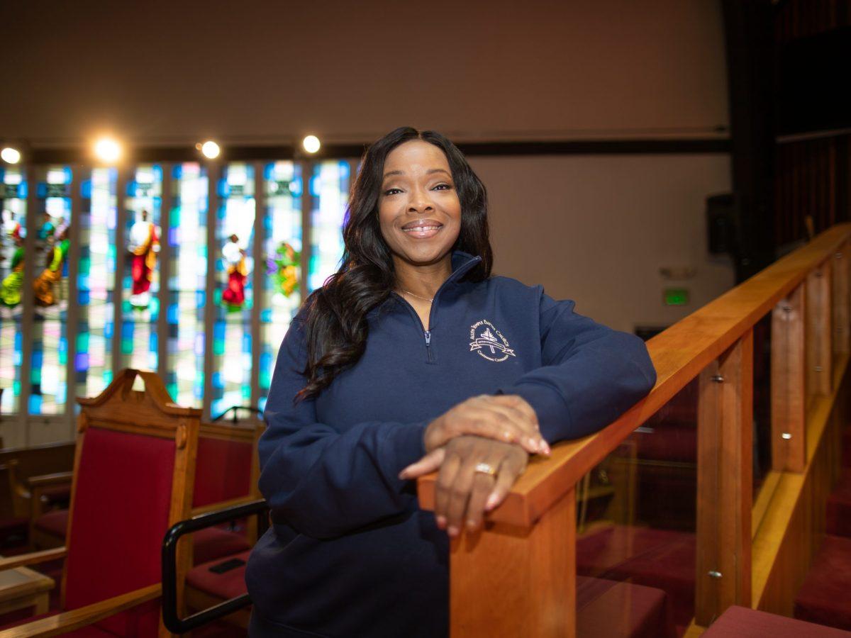 "Pastor Jacqueline Thompson ""Pastor Jackie"" of Allen Temple Baptist Church in East Oakland."