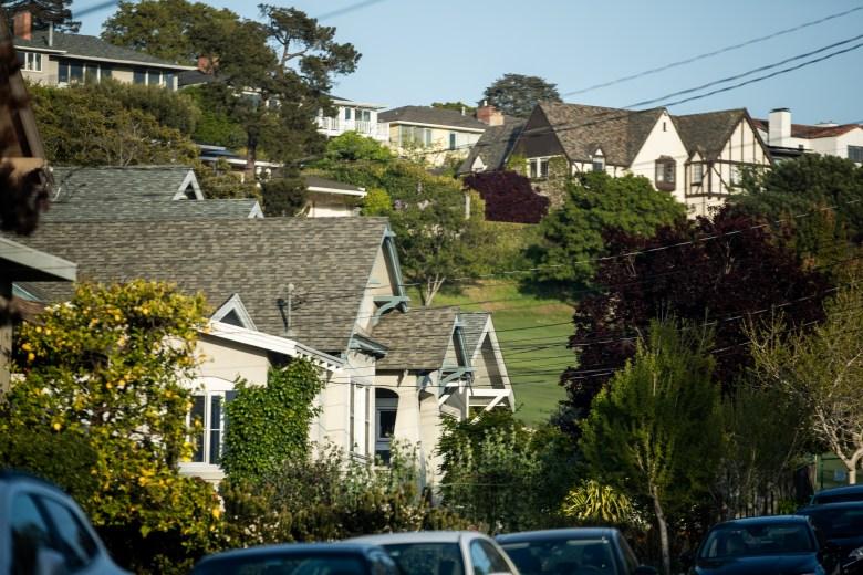 Single family homes in the Upper Rockridge neighborhood.