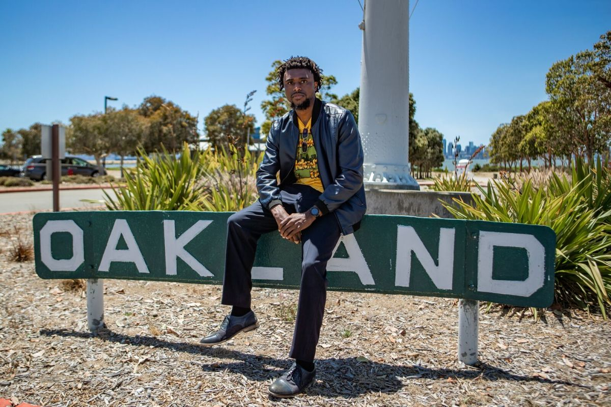 """Keenan Norris is the Oakland-based author of """"The Confession of Copeland Cane."""""""