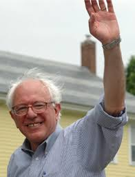 Liberal Democrat Bernie Sanders. He supports drone warfare, Israel and the continued political monopoly of the Republicrats. It is a huge mistake for socialist Kshama Sawant to support him.