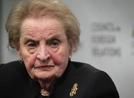 "Madeleine Albright. Workers should reserve a ""special place"" for her... right alongside Hillary!"