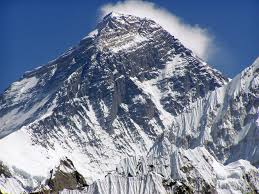 Mt. Everest. The Nepalese call it Sagarmatha and the Tibetans call her Chumalongma