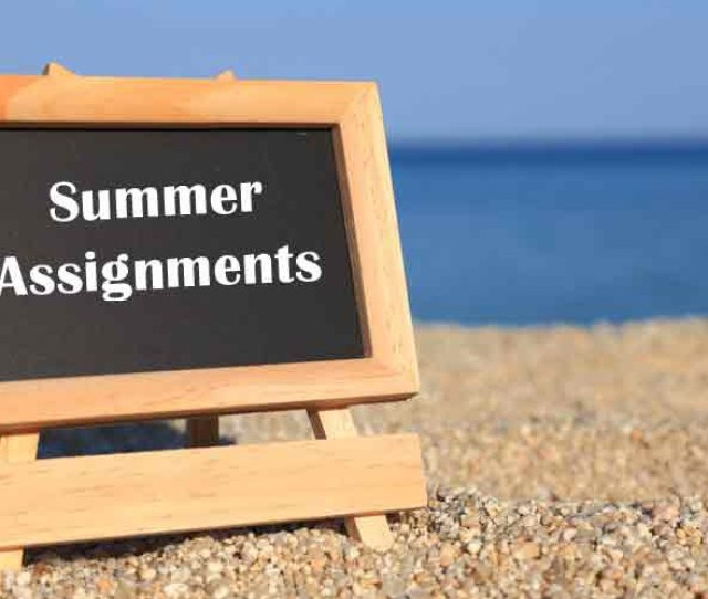 Student Summer Assignments Due First Day Of School Aug 13 Oakland Technical High School