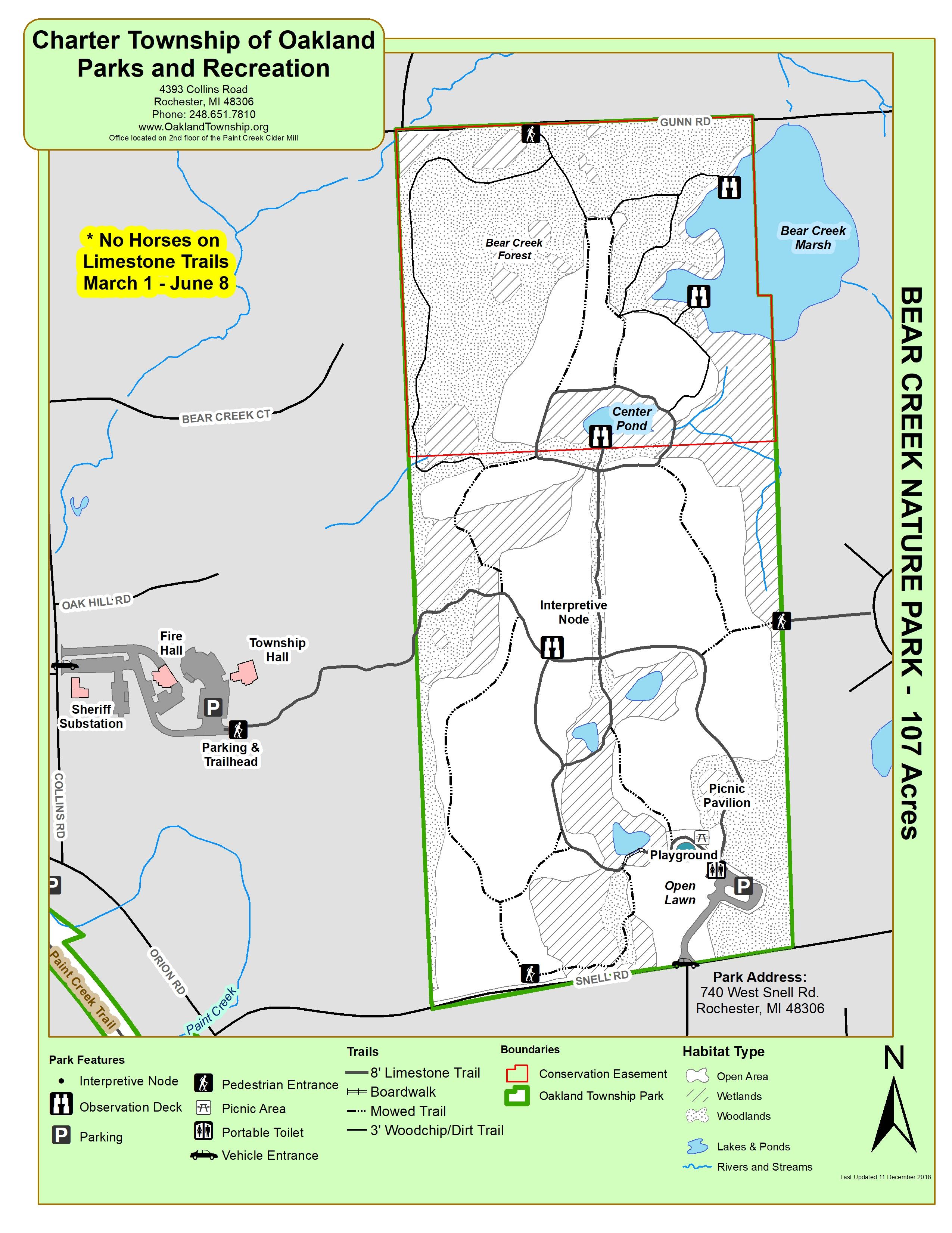 Marsh Creek State Park Map : marsh, creek, state, Creek, Nature, Oakland, Township, Parks
