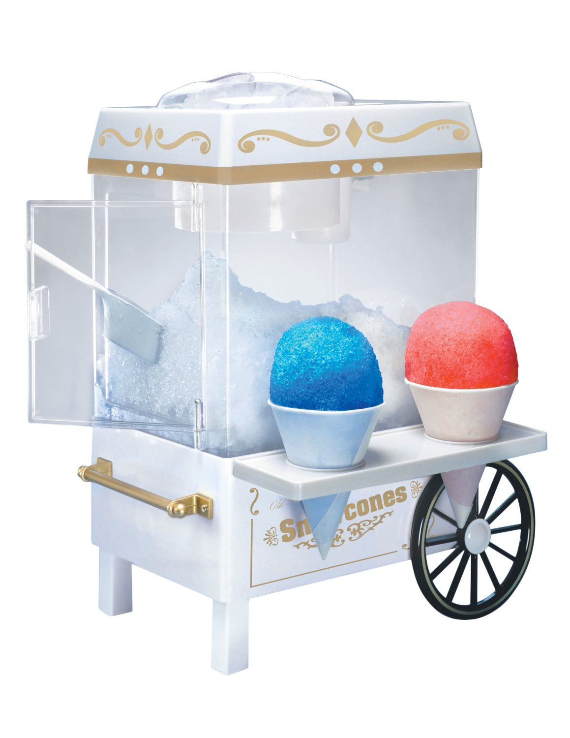 Snow Cone Machine Mini With Serving For 50