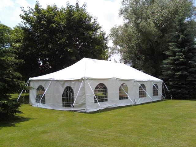 Tent 20 x 30 & Tent 20 x 30 - Oak Lawn Party Rentals