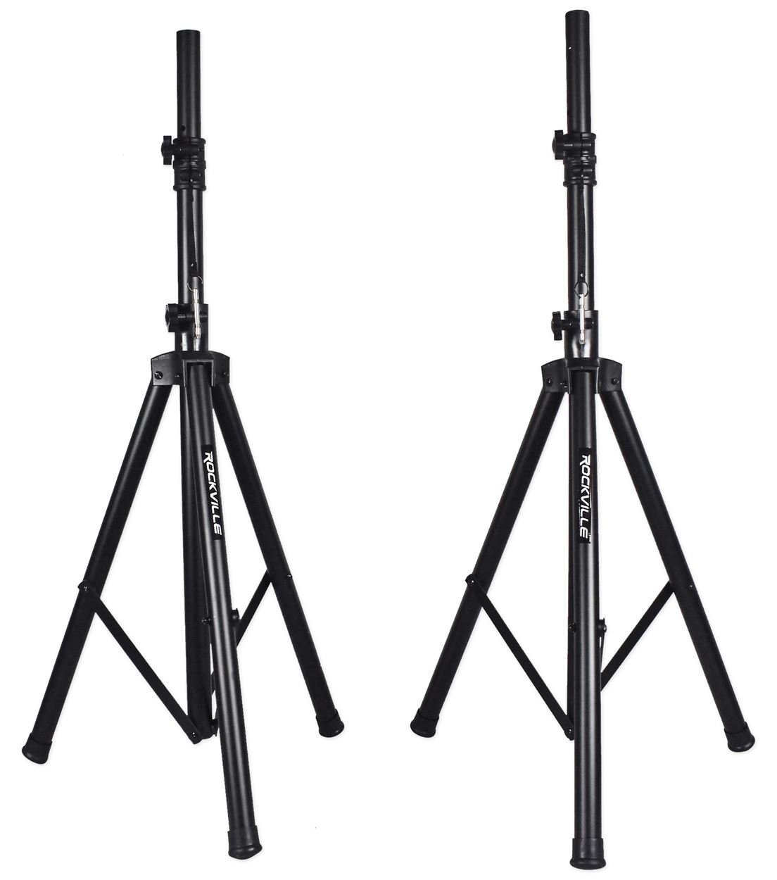 Dj Speakers With Stands And Microphone