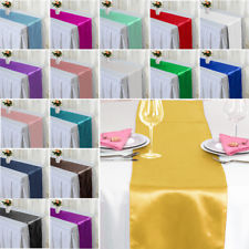 12 X 108 Inches Long Satin Table Runner