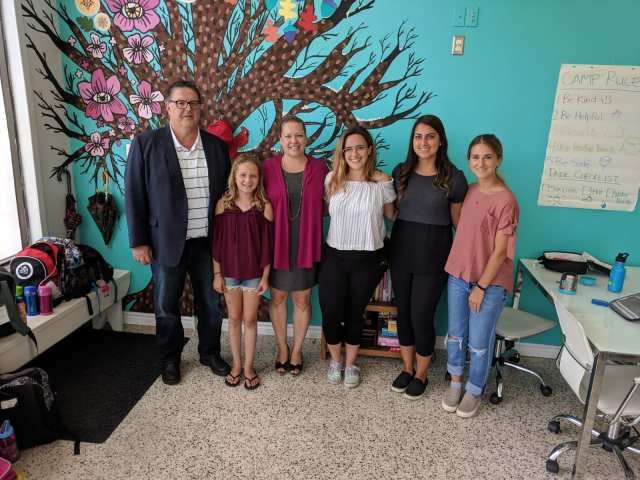 Hon. James Maloney visits Oak Learners Summer 2018