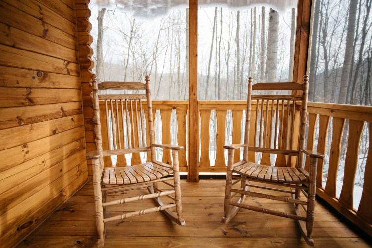 Cabin Enclosed Porch