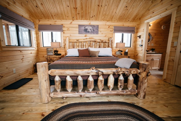 Cabin #2 Bed View