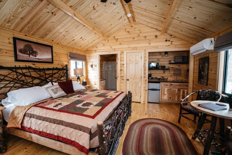 Cabin #3 Main Cabin Space