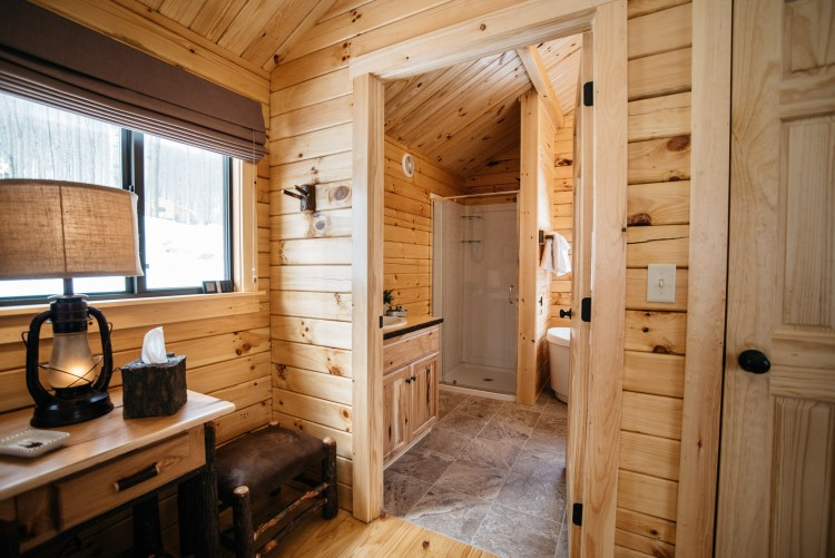 Cabin #3 Bathroom Entrance