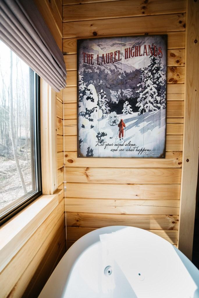 Cabin #13 Bathroom