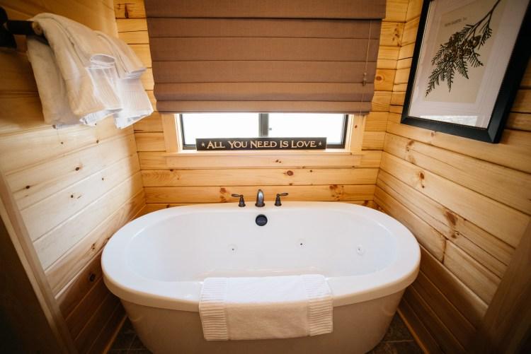 Cabin #14 Tub