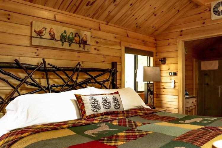 Cabin #11 Main Cabin Space