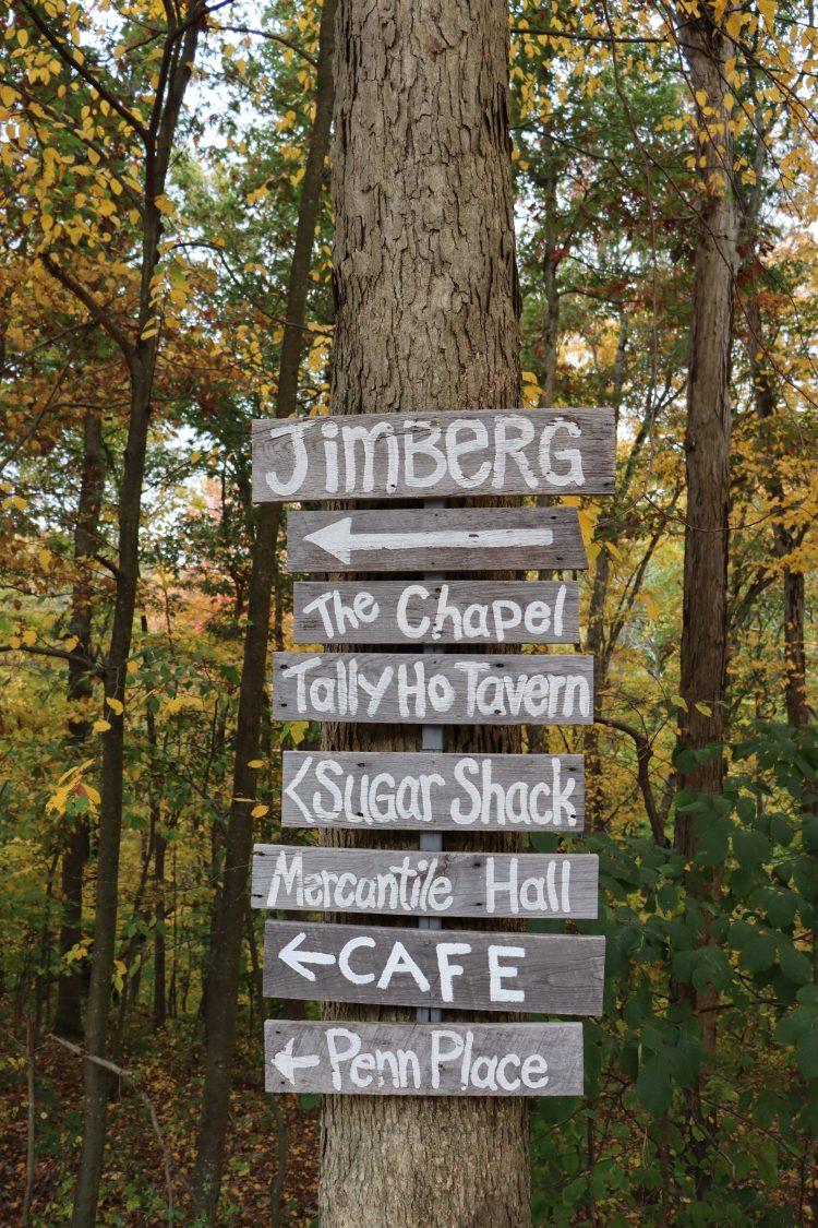 Jimberg Village Signs