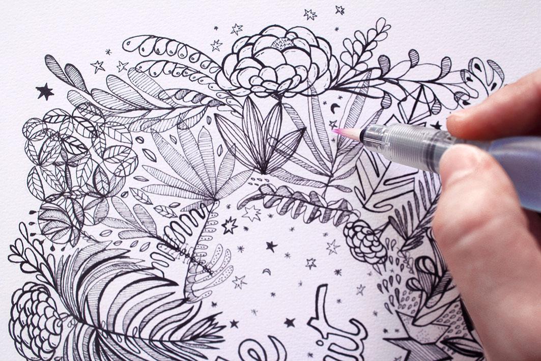 illustration jungle