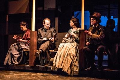 OPFT Dickens Carol-Laura Resinger, Kevin Theis, Jhenai Mootz, Matt Gall