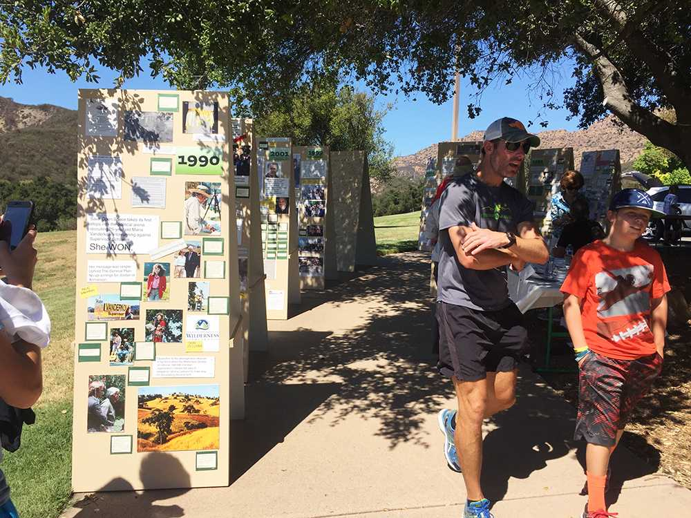 Oak Park's 50th anniversary was celebrated on Sunday, Sept. 18. The event included a 5k walk, a bike ride and a family picnic (Courtesy of Key Club).