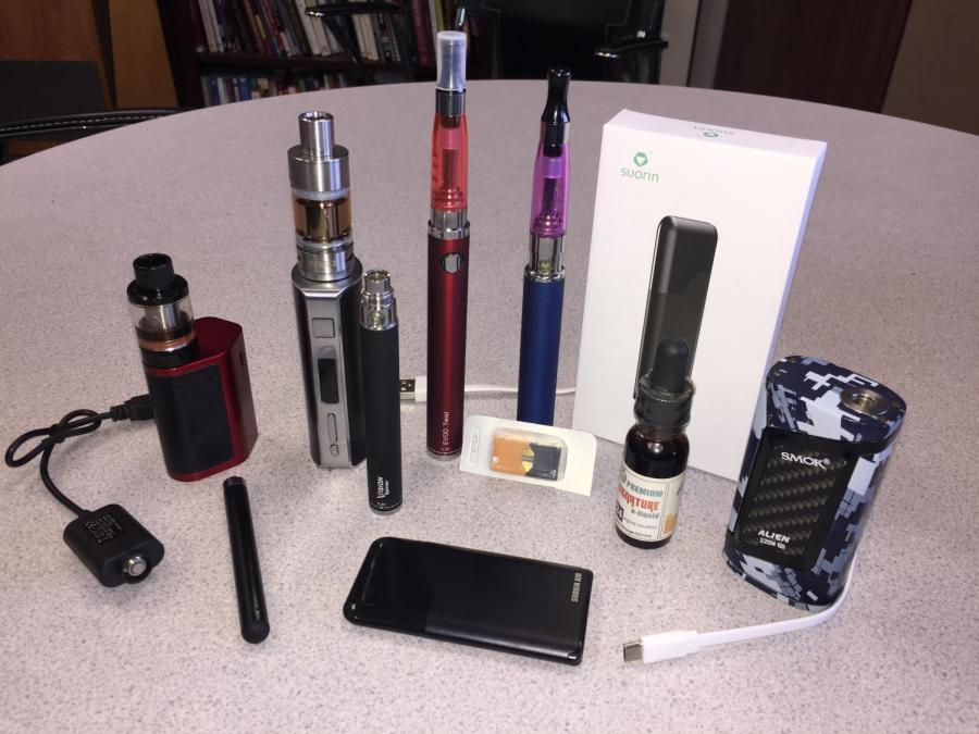 Confiscated Vaping Equipment