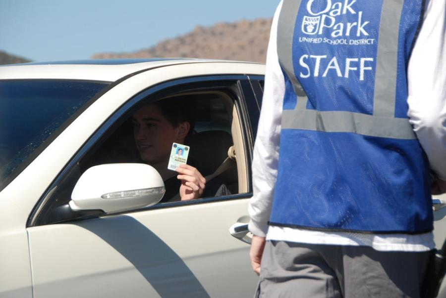 Student drivers are now being cared before they leave campus to assure safety.