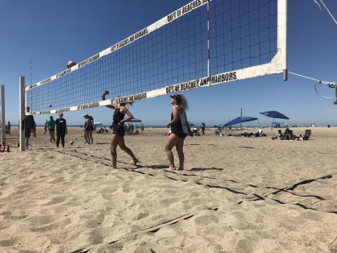 Beach volleyball becomes official school sport